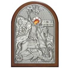 Икона Георгий Победоносец с гранатами